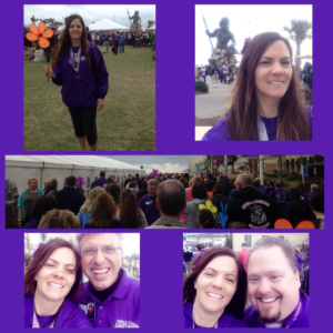 My local Walk to End Alz.